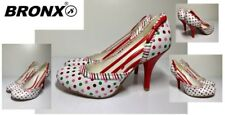 Ladies Heeled Shoes By Bronx Size Eu38 New Free Delivery
