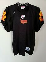 Rare VTG 90s AFL New York Dragons Blank Arena Football Pro Cut Blank Jersey M