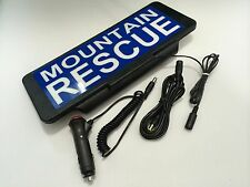 Signo de Rescate de Montaña Univisor Led Visera Iluminado Control Remoto Flash