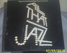 ALL THAT JAZZ (Music from the Movie) - LP Vinyl 1979 Casablanca NBLP-7198 S-35