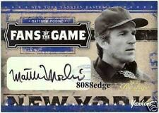 """2005 FANS OF THE GAME AUTOGRAPH AUTO: MATTHEW MODINE #49/50 """"FULL METAL JACKET"""""""