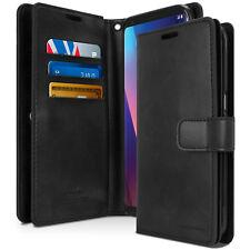 For LG V40 V30 Plus V20 V35 Case Dual Flip leather Shockproof wallet Case Cover