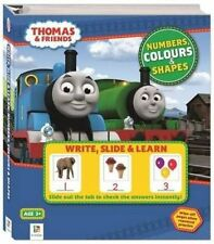 Thomas and Friends Write, Slide & Learn - Numbers, Colours and Shapes by Hinkler Book Distributors (Hardback, 2014)