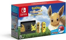 Nintendo Switch Console Bundle Pikachu & Eevee Edition with Pokemon Let's Go NEW
