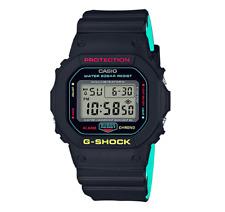 CASIO G-Shock DW-5600CMB-1D Breezy Rasta Reggae Original Box New @