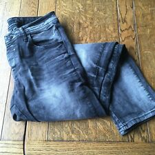 CIPO & BAXX Hombres Jeans, Negro, Slim Fit W32, L34