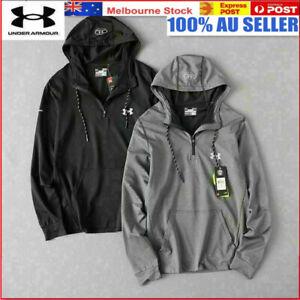 2021 Under Armour UA Mens Hoodie Pullover Sweatshirt Jumper Hoody Jacket Hoodies