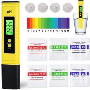 Misuratore digitale qualità dell'acqua, PH Tester Alta Precisione con LCD