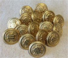 SCUDO d'oro Bottoni gambo 12.5 mm - 5 pulsanti