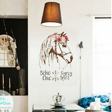 Home Decor Removable DIY Vinyl Wall Sticker Horse Quote Mural Art Decal Kids