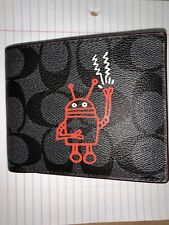 Keith Haring Coach 3 In 1 Wallet New With Tags