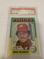 1975 Topps Mike Schmidt Philadelphia Phillies  #70  🚀😳💥  PSA GRADED 6