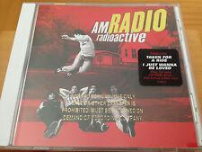 NOS AM RADIO radioactive Gold Stamp Promo CD Album 2003 Unplayed