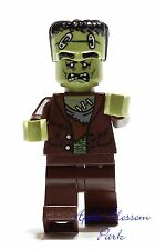 NEW Lego Green FRANKENSTEIN MONSTER MINIFIG - Fighters Halloween Minifigure 9466