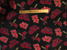 ST LOUIS CARDINALS MLB BASEBALL FLEECE FABRIC