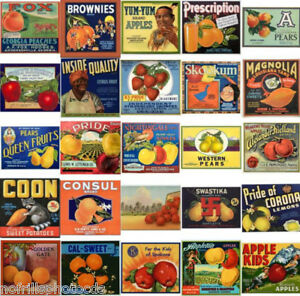 The No Frills Vintage Photo CD 8000+ Pics of posters labels ads & more