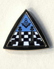 freemason compass and square triangle lapel badge masonic masonry the craft
