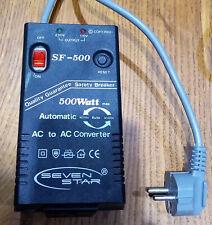 Seven Star SF-500 SF500 500W 110v / 220v Step Up  / Down Automatic Transformer