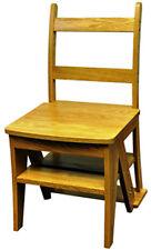 Sunheat International Benjamin Franklin Step Chair, Oak