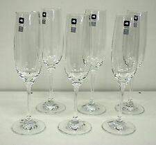 Leonardo Sektgläser 6 Stück Ciao+ Sektglas Sektkelch Glas 190 ml