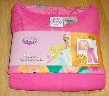 DISNEY PRINCESS 2-PIECE FLANNEL SLEEPWEAR SET(4-T)
