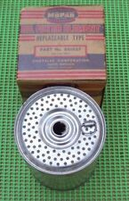 NOS MoPar Vintage 1932 - 1942 Chrysler DeSoto Dodge Plymouth OIL FILTER 861027