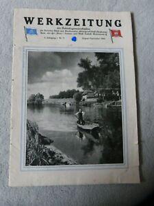 Heft / Broschüre : Werkzeitung der AG Weser August / September 1941