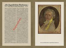 Karl koetschau portrait Beethoven quais Bonn Cologne musique classique art 1927