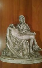 Large Vintage Pieta Jesus Mary Michelangelo Catholic Statue