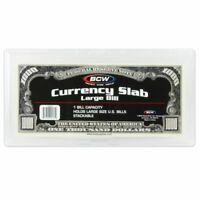 *Lot* of 15 DELUXE RIGID CURRENCY SLAB REGULAR SIZE *Free Priority Shipping!*
