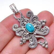 Handmade Turquoise Natural Stone Fine Necklaces & Pendants