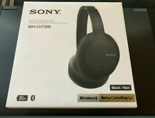 Sony Wh-Ch710N Bluetooth Wireless Noise-Canceling Headphones (Black)