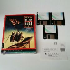 Battle Bugs DOS 3.5 Floppy Sierra Epyx strategy game