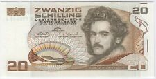 More details for 1986 austria 20 schilling bank note | pennies2pounds