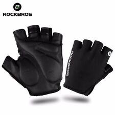 RockBros Half Finger Cycling Gloves Shockproof Breathable Spotrs Mtb Bike Gloves