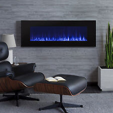 "RealFlame Electric Wall Fireplace DiNatale 50 "" Hanging Unit Real Flame"
