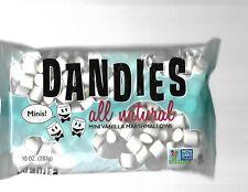 m205s food eat  sweet Dandies Minis Marshmallows vegan, vegetarian NONGMO 11/20
