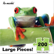 Re-Marks 200 Piece Dart Frog Puzzle