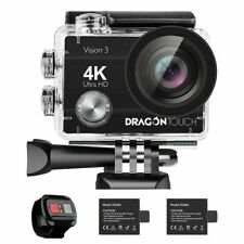 Dragon Touch Vision 3 4k Waterproof Action Camera