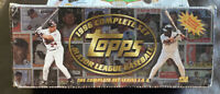 1996 Topps Baseball Factory Opened Complete Set With MICKEY MANTLE Card