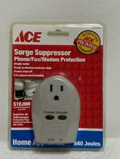 Home Appliance Surge Suppressor  1 Outlet  840 Joules Ace-New Sealed
