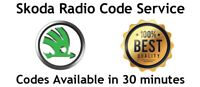 Skoda Radio Code Unlock | RNS310 Radio Codes Unlock Service Symphony/Swing/Fabia