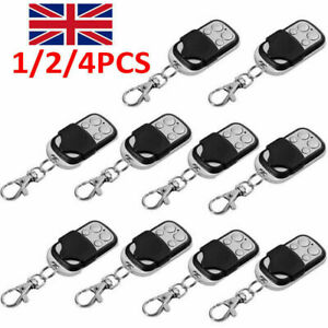 4X Electric Cloning Universal Gate Garage Door Remote Control Fob 433mhz Key Fob