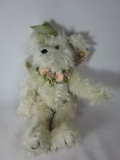 BEARINGTON COLLECTION OURS Hope 1013 Peluche 30.5cm blanc ange ourson NWT