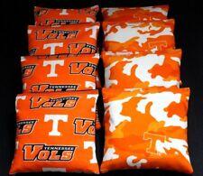 Cornhole Bean Bags w Tennessee Volunteers Vols Fabric Aca reg Bags