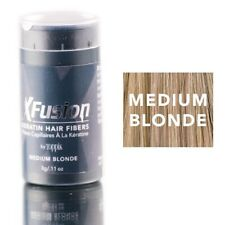 XFusion Keratin Hair Fibers Medium Blonde Travel Size 3g 0.11 oz New