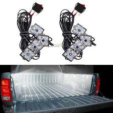 8pc Truck Bed White Led Lighting Light Kit For Chevy Dodge GMC Trucks Pickup top