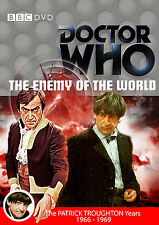 DOCTOR WHO: THE ENEMY OF THE WORLD  BBC Dr Who UK R2 BBC DVD - Patrick Troughton
