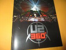 U2 360 Tour Book