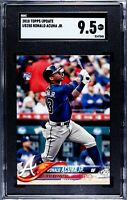 2018 Topps Update SGC 9.5 Ronald Acuna Mint Rookie #US250